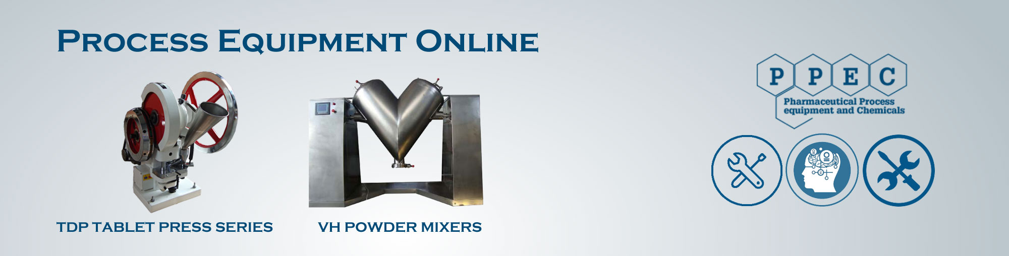 VH Series Powder Mixers